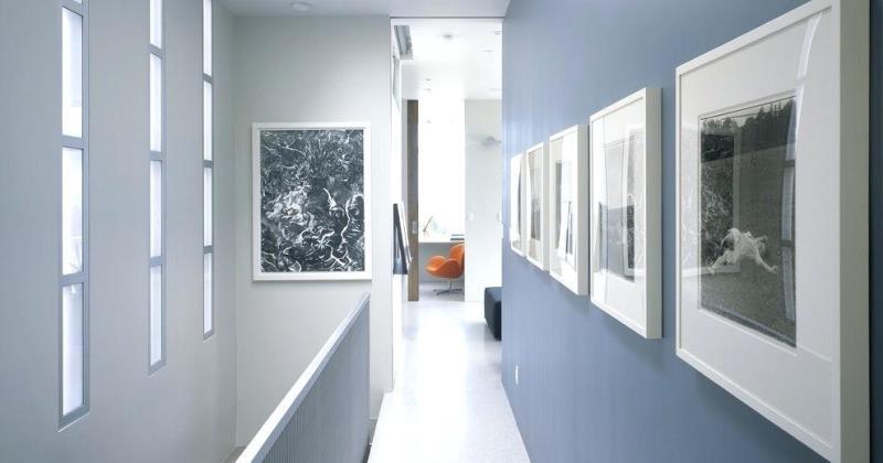 Diy hallway wall art