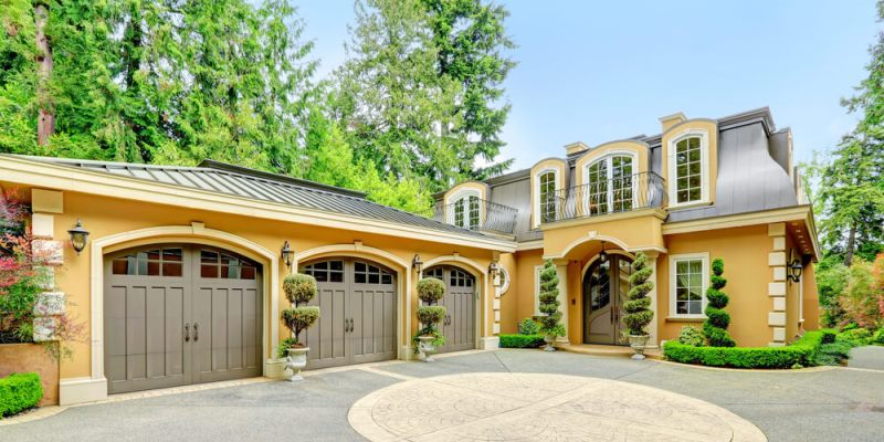 Garage door design for home