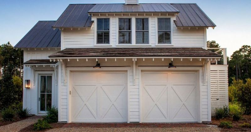Garage door design ideas pictures