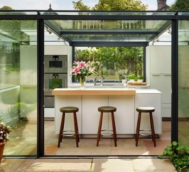 Glass Kitchen Extensions Designs