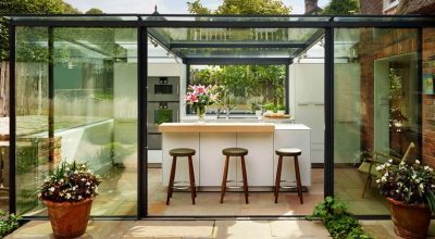 Glass Kitchen Extensions Designs