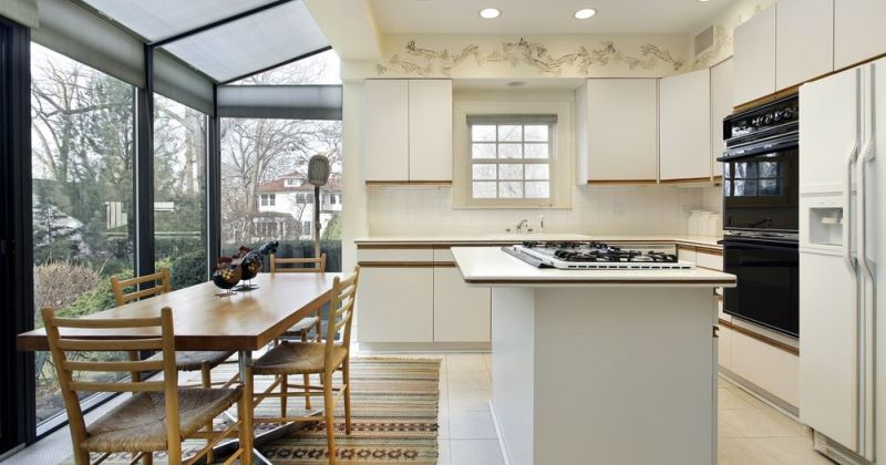 Glass kitchen extensions