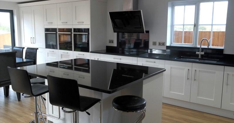 Honed black granite countertops pros and cons