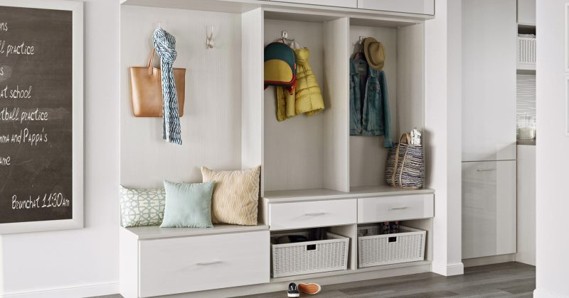 Ideas for mudroom storage