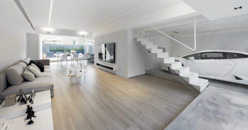 Minimalist contemporary interior design