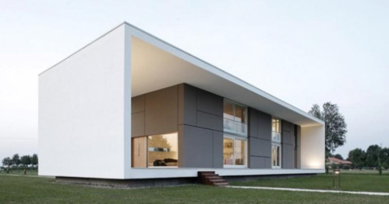 Minimalist design house plan
