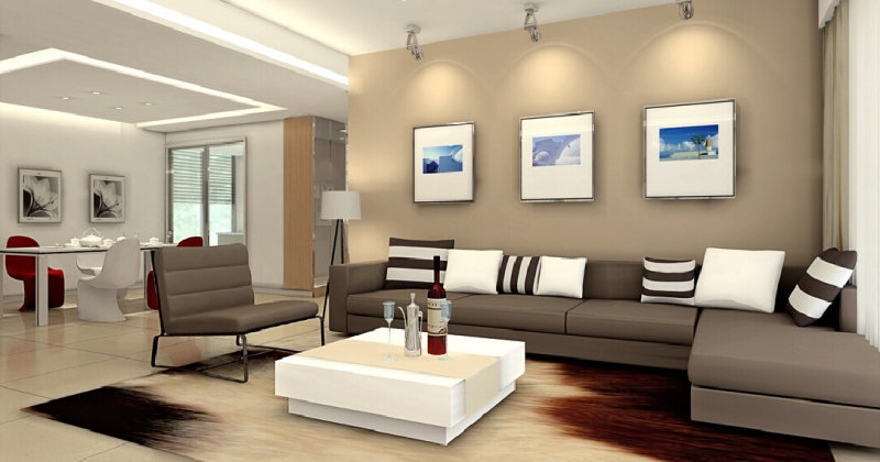 Minimalist interior design decor