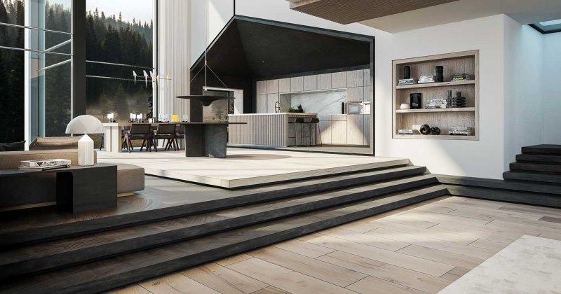Minimalist interior designer cool