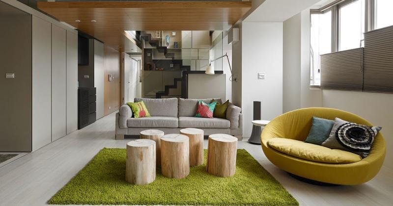 Minimalist interior house design