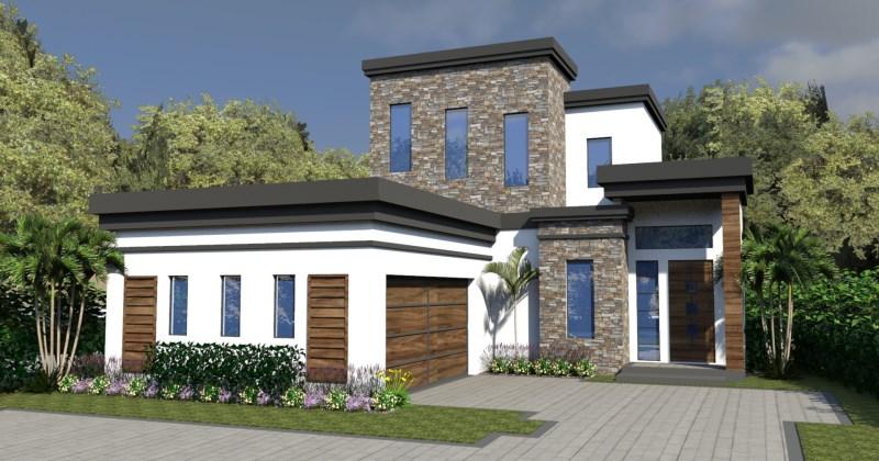 Modern house layouts