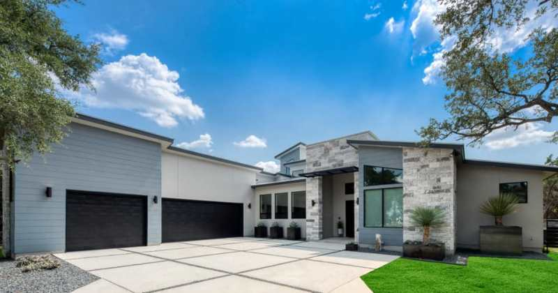 Modern house plan design