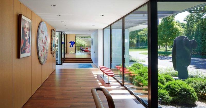 Modern wall art for hallway