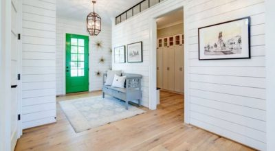 Mudroom White Floor Ideas
