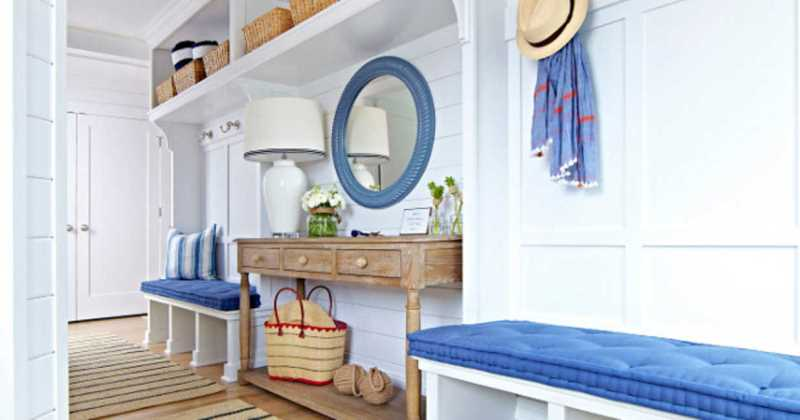 Mudroom bench ideas