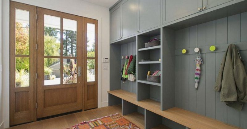 Mudroom entry ideas