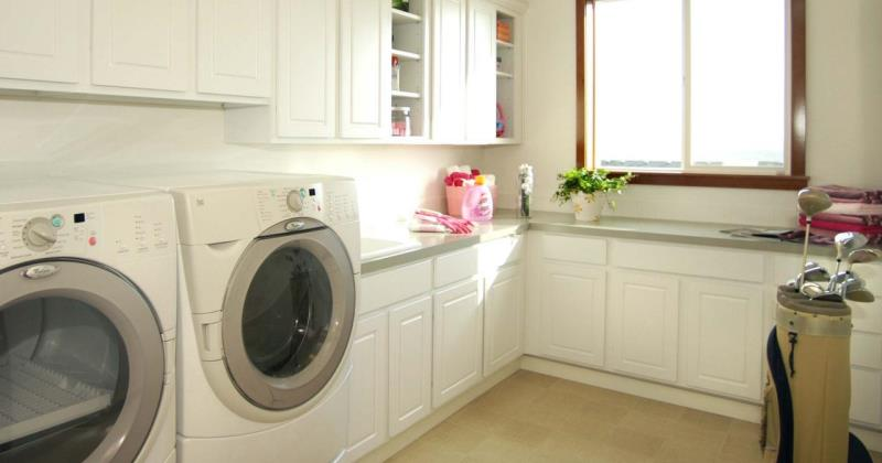 Mudroom laundry ideas