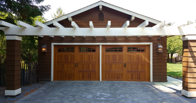New garage door designs