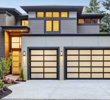 Right New Garage Door