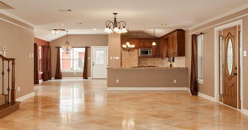 Travertine Tile Living Spaces Livelier