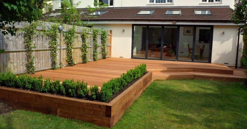 Decking ideas for garden
