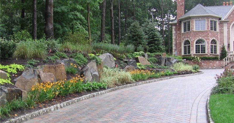 Driveway design ideas landscaping