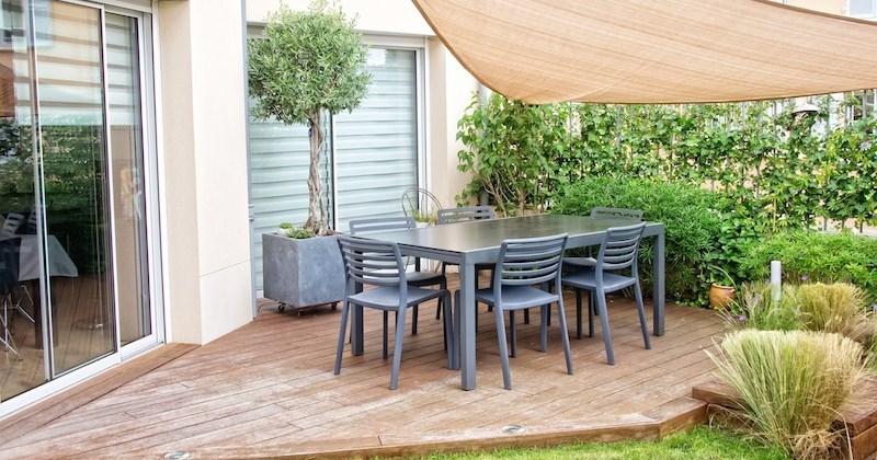Garden with decking ideas