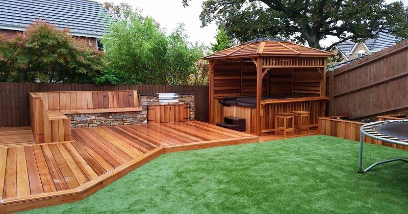 Photos of garden decking ideas