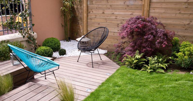 Small garden decking ideas on a budget