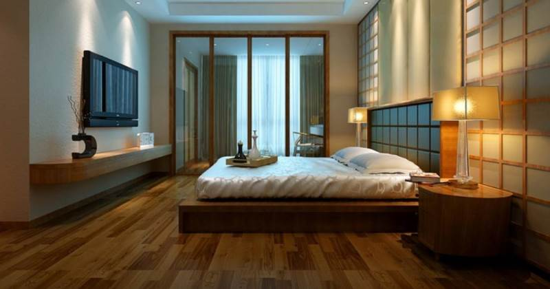 Wood flooring ideas for bedroom