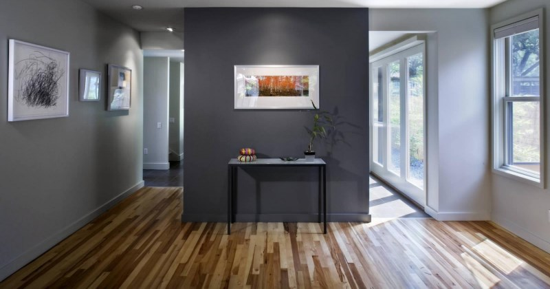 Wooden floor paint ideas